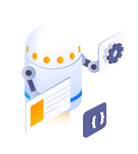 Ciphix Robot icon checking code automatically