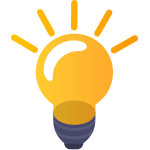 Ciphix lamp idea icon