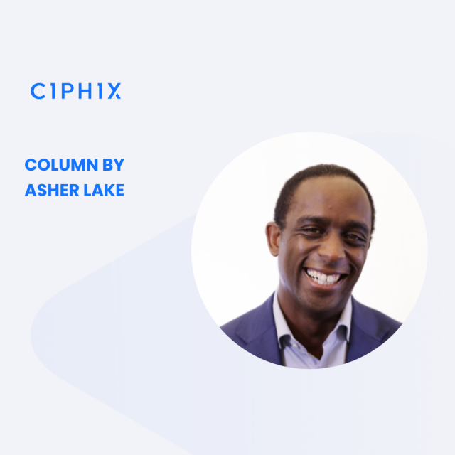 Ciphix Column by Asher Lake